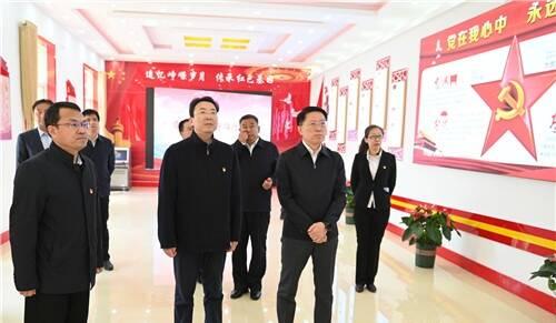 淄博市委书记江敦涛专题调研革命文物保护管理运用工作