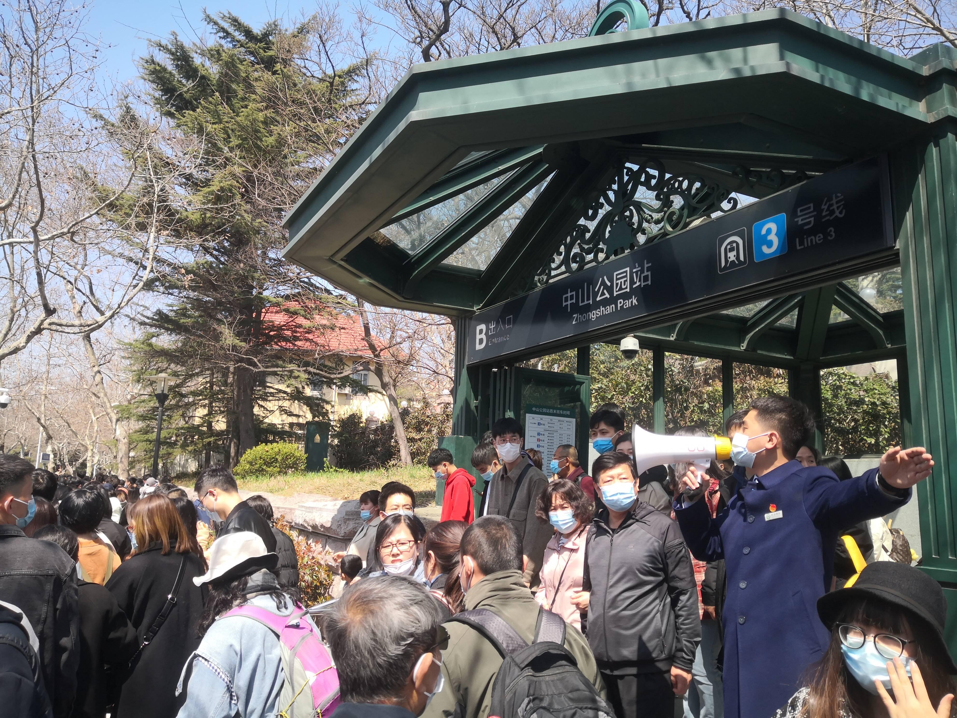 清明小长假 青岛地铁客流单日突破百万创新高