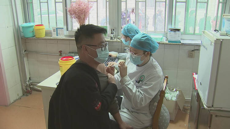 45秒│截至4月6日,潍坊昌邑累计接种新冠病毒疫苗达58501剂次