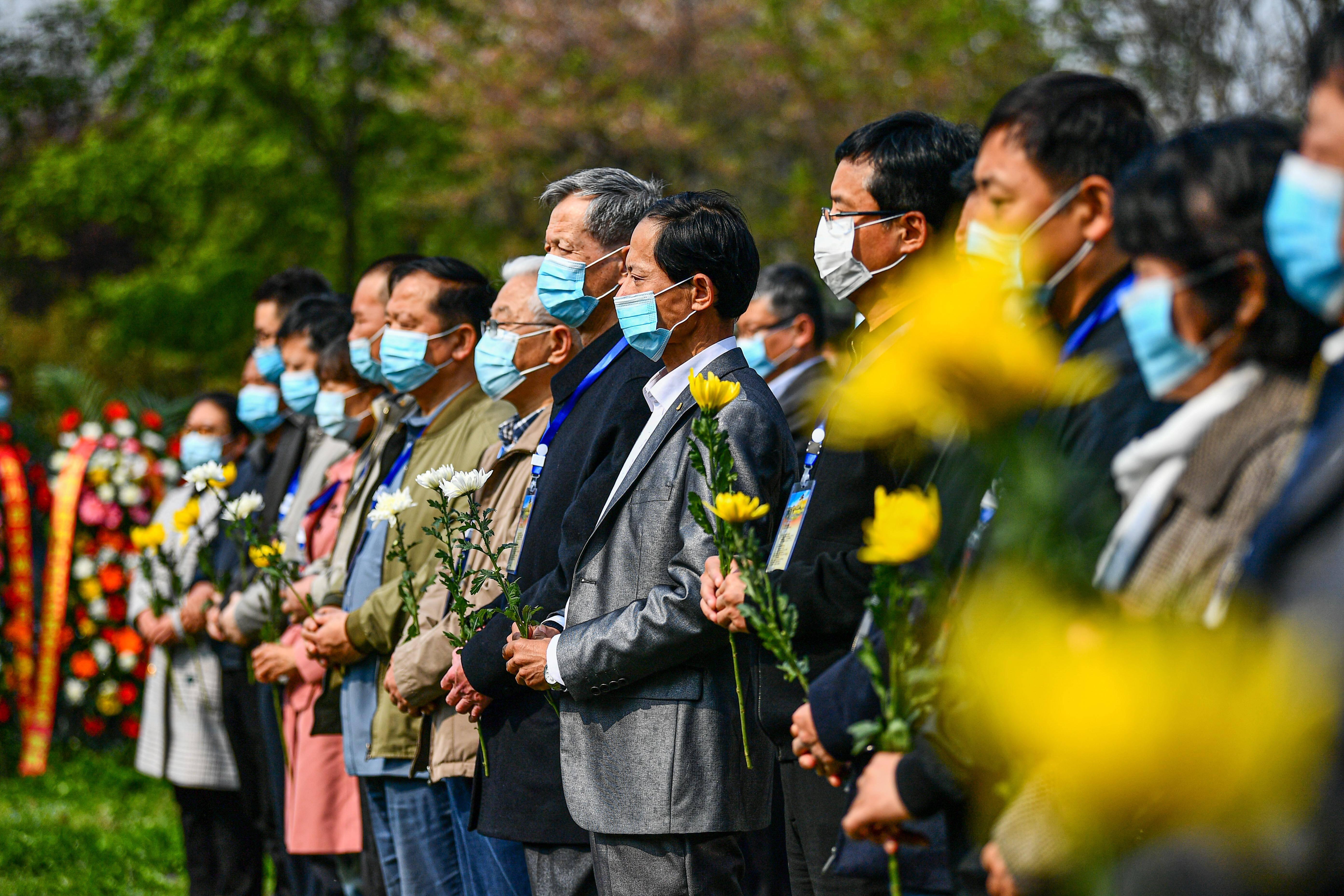 山東棗莊舉辦臺兒莊大戰勝利83周年紀念活動