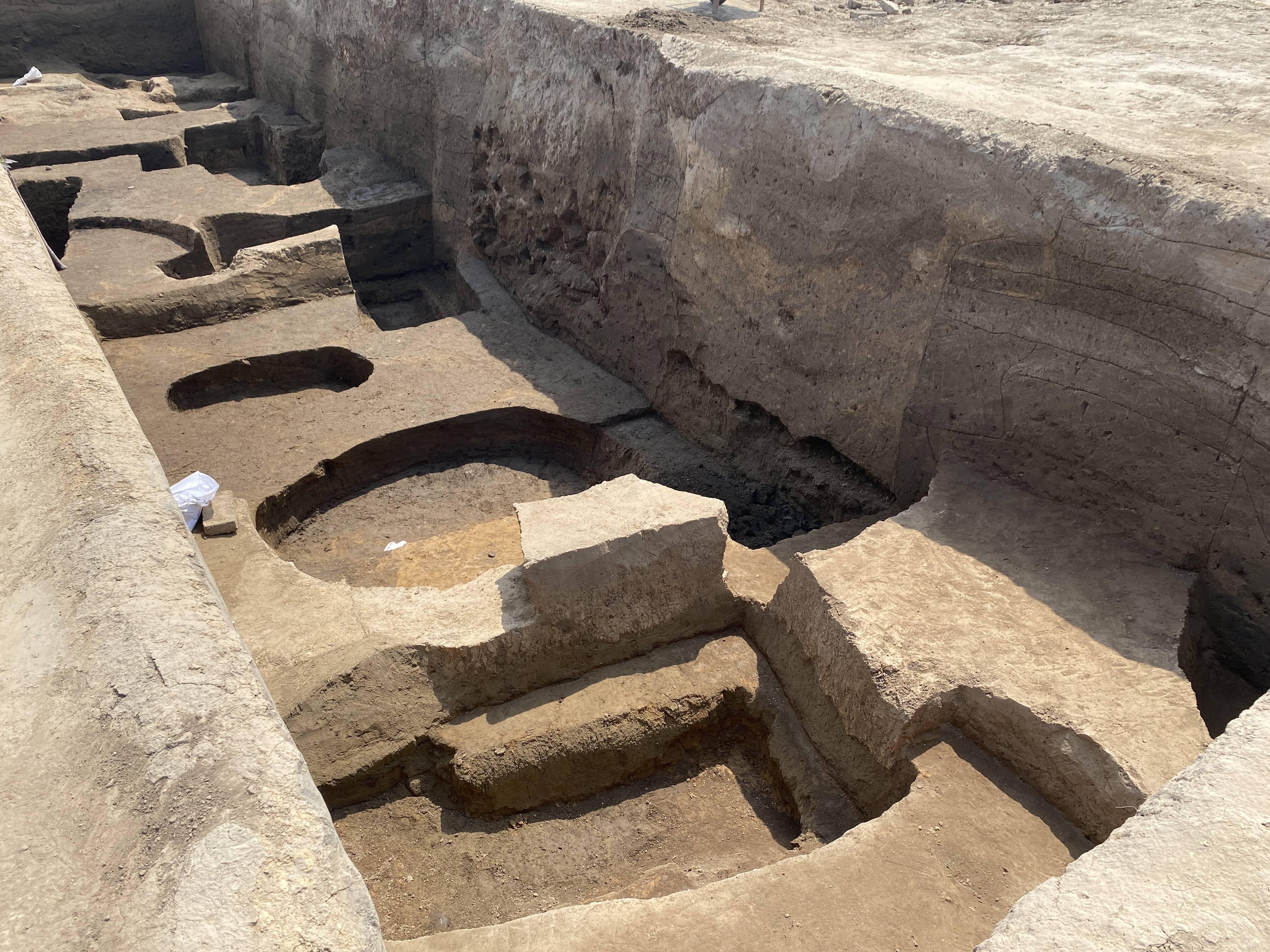 新进展!菏泽考古遗址新挖掘墓葬增至198座!另有窑址、灶等新发现