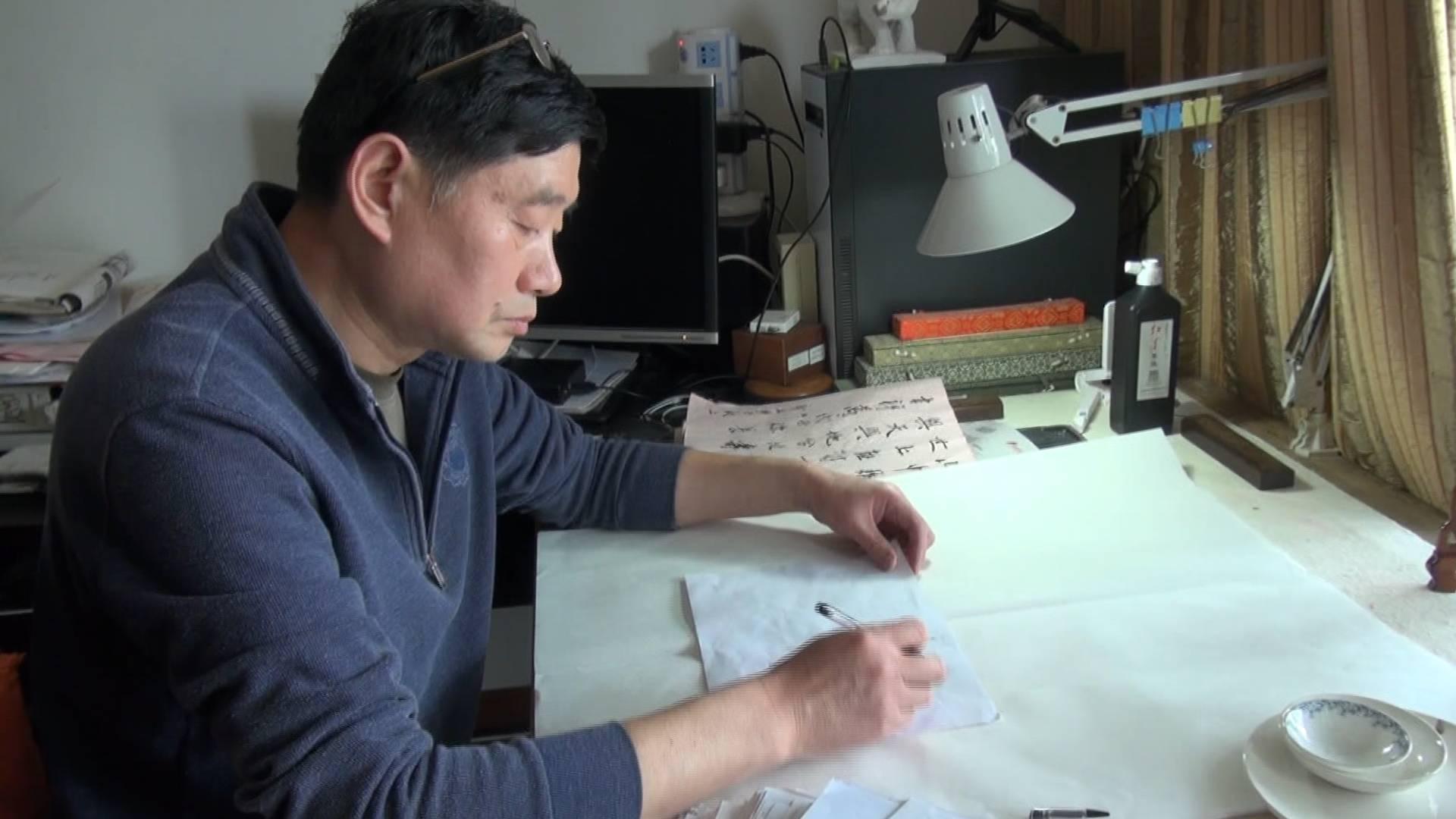 耗时6年绘制《小清河东流图》 济南退休教师绘制上千张手稿复原百年前小清河繁荣景象
