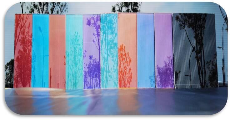 中科泰阳研制出世界领先高透光彩色镀膜技术,并成功应用于BIPV薄膜光电幕墙