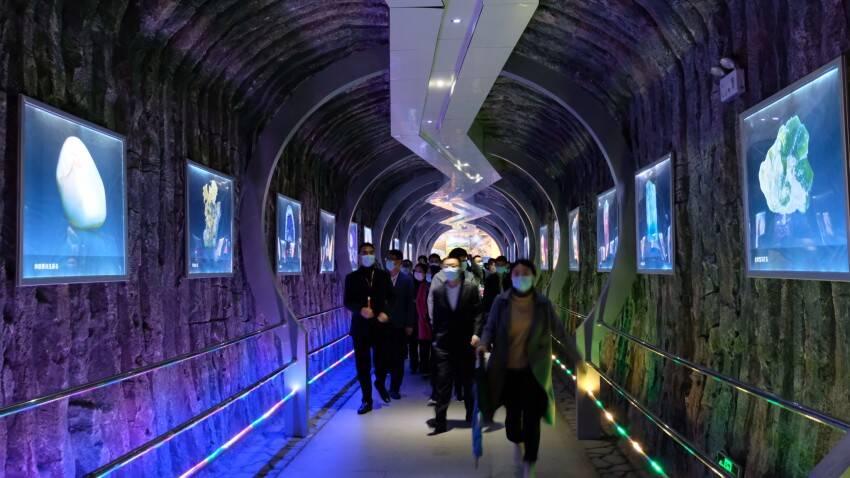 41秒丨2021中国(昌乐)国际宝石博览会开幕 近3000件精美展品亮相
