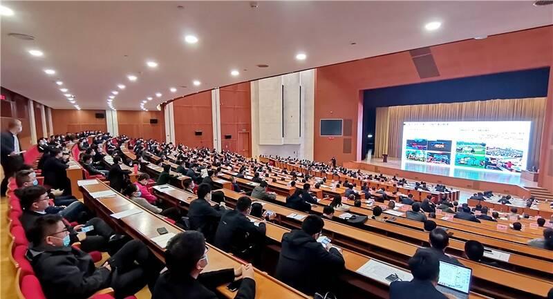 淄博市委理论学习中心组举行专业能力大提升报告会