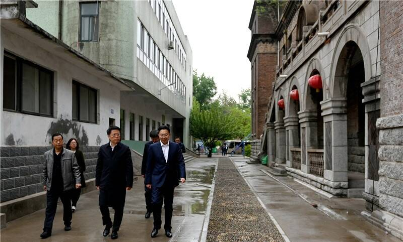 江敦涛到博山区调研红色资源保护利用开发工作