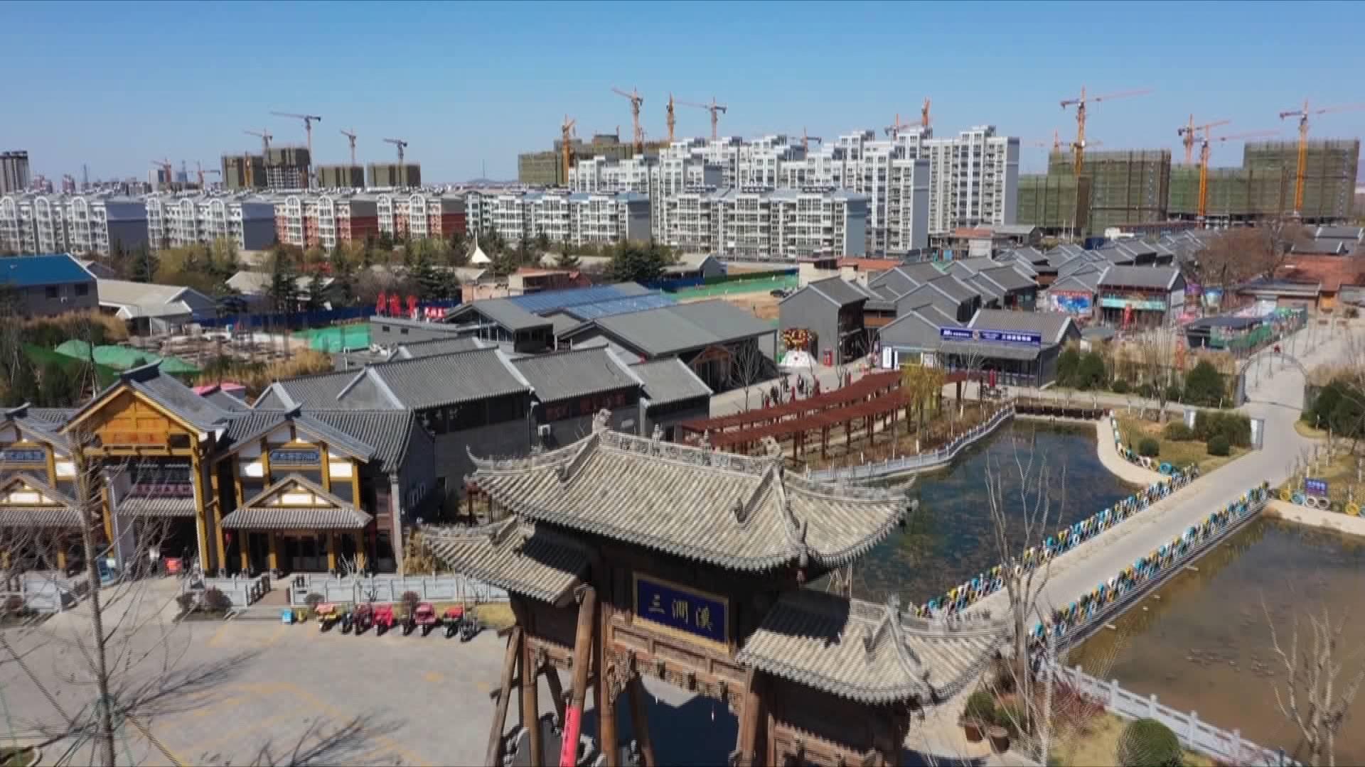 小康村的新生活 济南市三涧溪村坚持党建引领 激发乡村振兴新活力