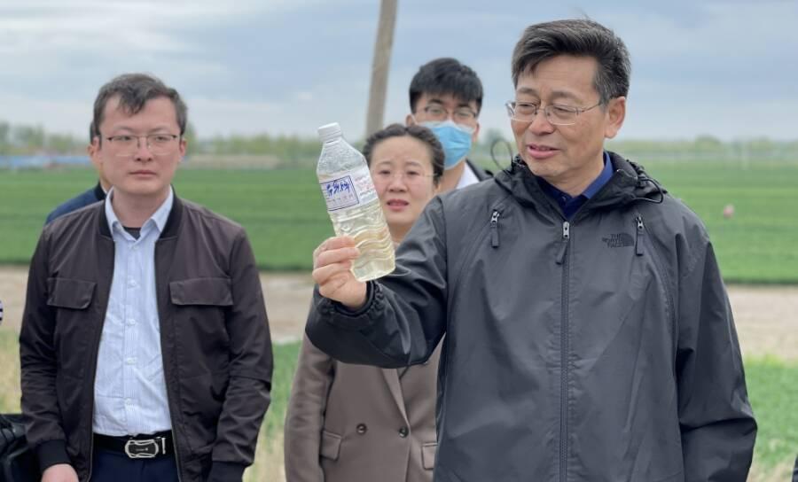 山东省第四生态环保督察组到高密督导调研 要求积极推进污水治理能力提升