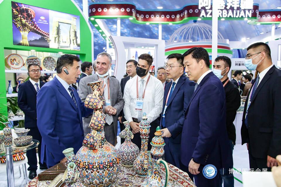 """多图打""""卡""""!2021上海合作组织国际投资贸易博览会开幕"""