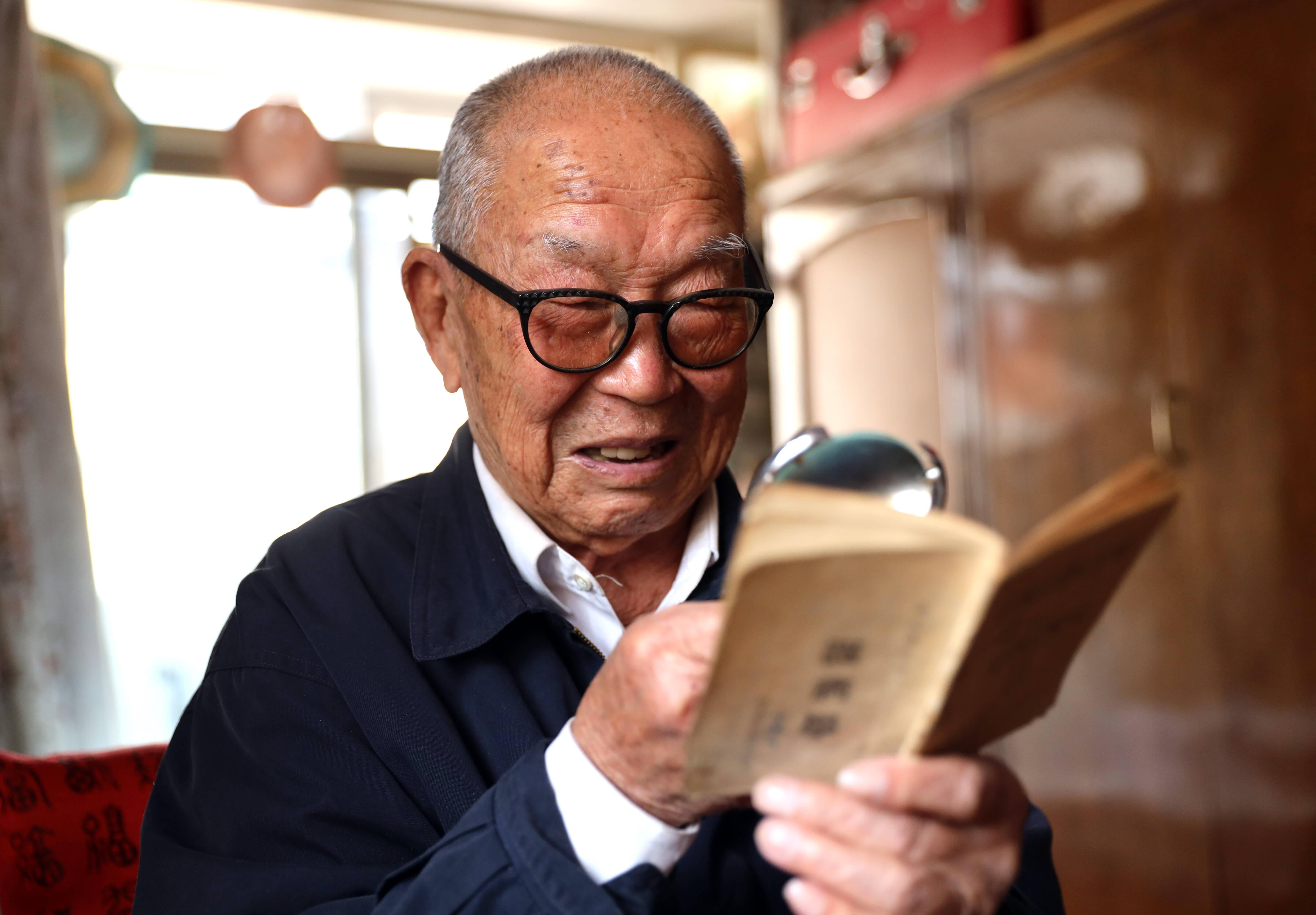 青岛91岁老人寻找入党介绍人:老连长,你在哪里?