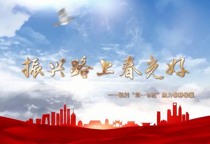 """振兴路上春光好——国网山东电力驻村""""第一书记""""助力春耕春灌"""