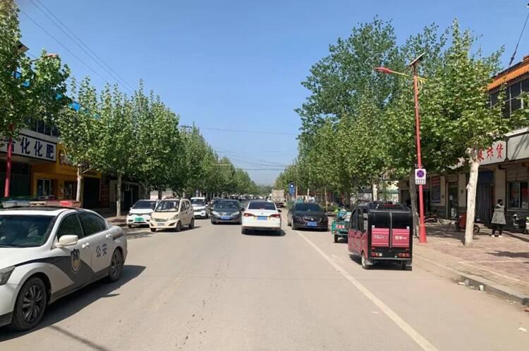 注意!5月8日起聊城莘县柿子园镇政府驻地部分路段禁停