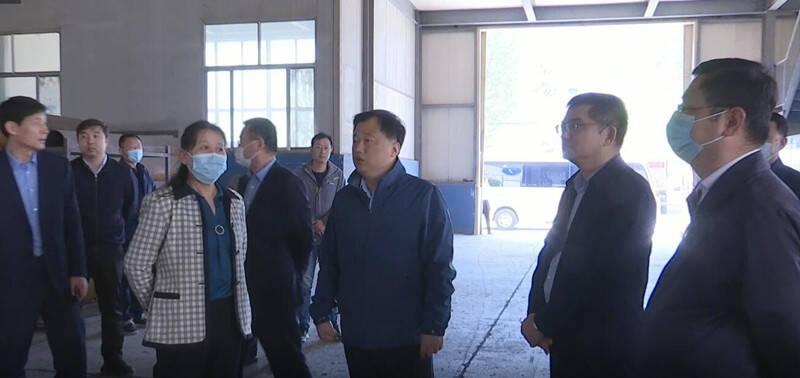【五一我在岗】潍坊市寒亭区区委书记带队现场督导疫情防控、安全生产、环保工作