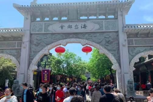 """""""五一""""第二天 潍坊市共接游客54.53万人次"""