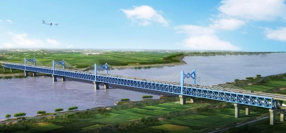 距泺口水文站30公里36个月完工 济滨高铁济阳黄河公铁两用特大桥项目建设方案获批