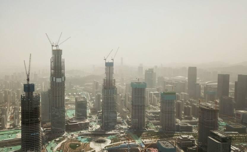 大风+沙尘天气 济南继续发布大风蓝色预警