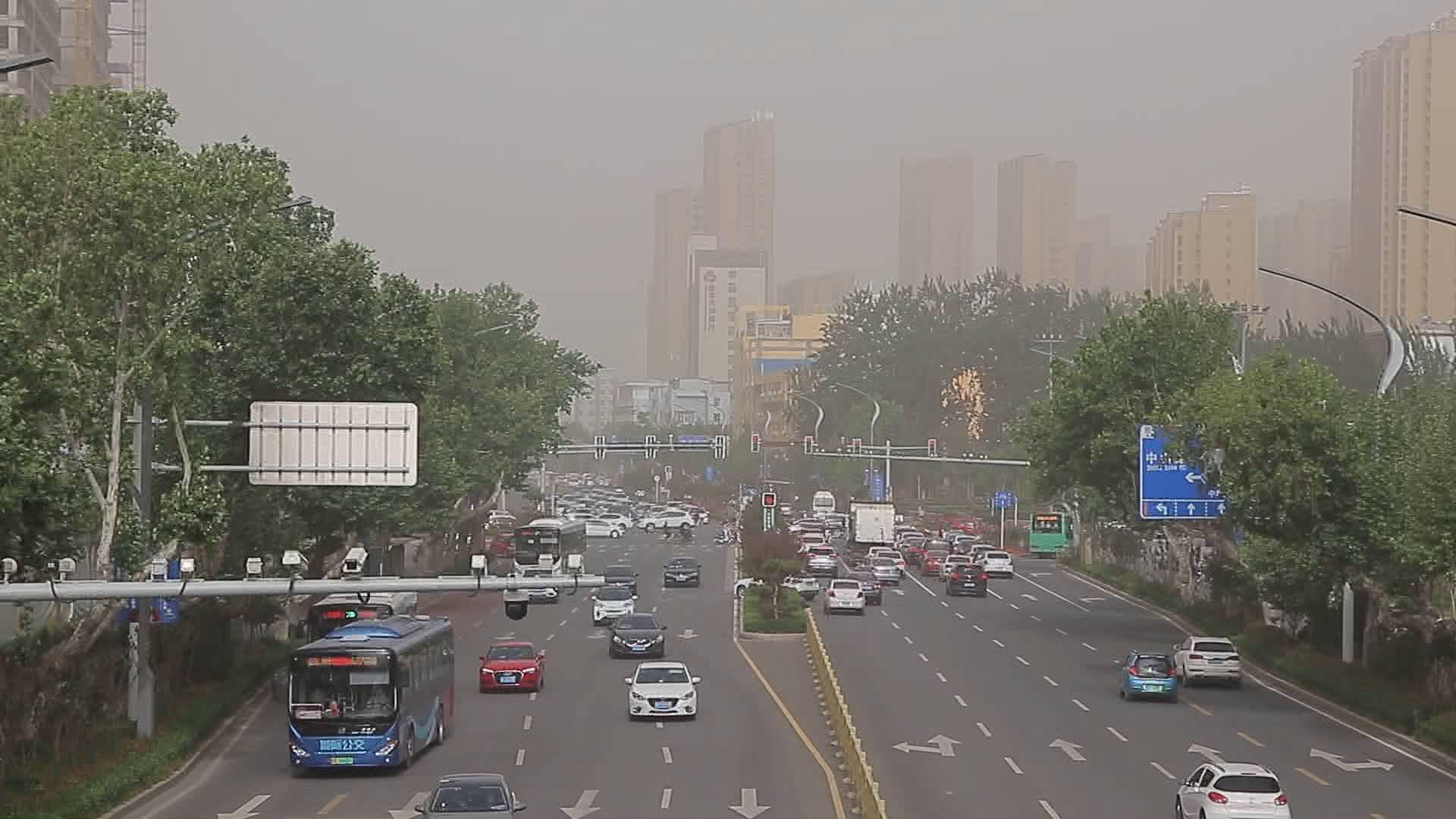 沙尘天气到达山东!这12个市空气质量严重污染,9日沙尘才走
