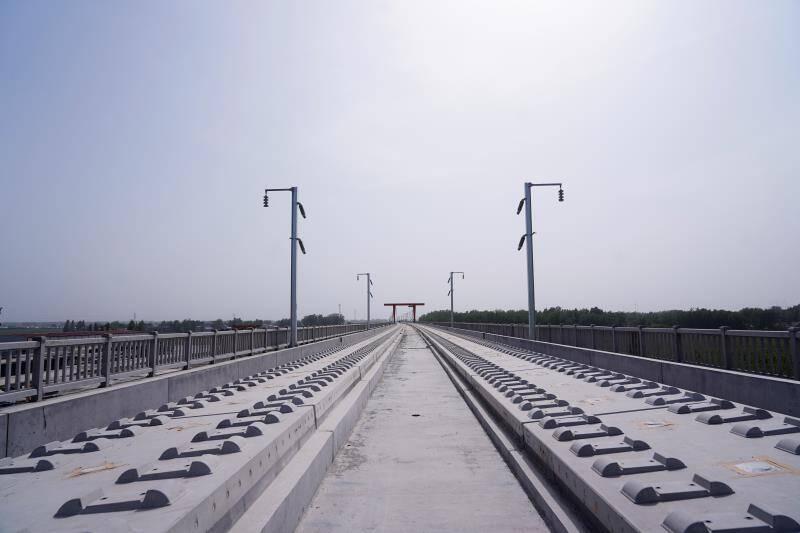 鲁南高铁菏泽至兰考段即将进入铺轨阶段
