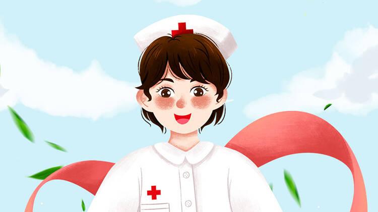 海报丨5·12护士节:你眸中柔光 让人间光芒万丈