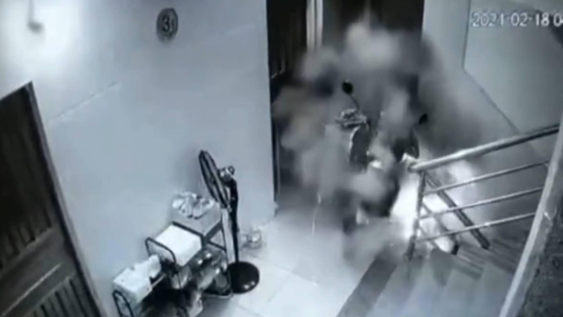 """电动车上楼频频引发火灾!潍坊用这个""""黑科技""""一招解决隐患"""