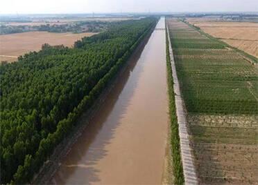 """德州首次实现""""江河汇流"""",将调水入冀4000万立方米"""