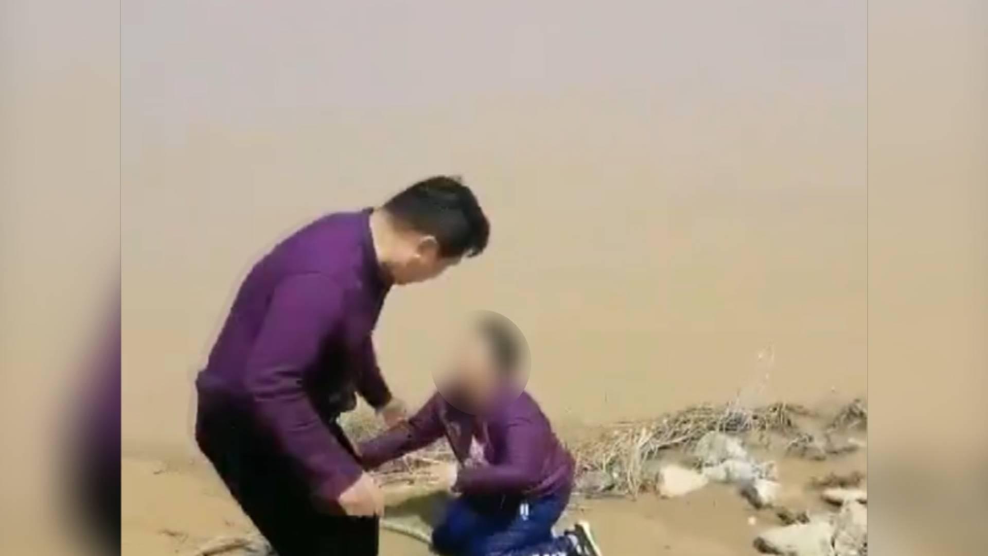 """""""她下跪的那一刻我蒙了!"""" 黄河边""""教科书式""""施救的好心人找到了"""
