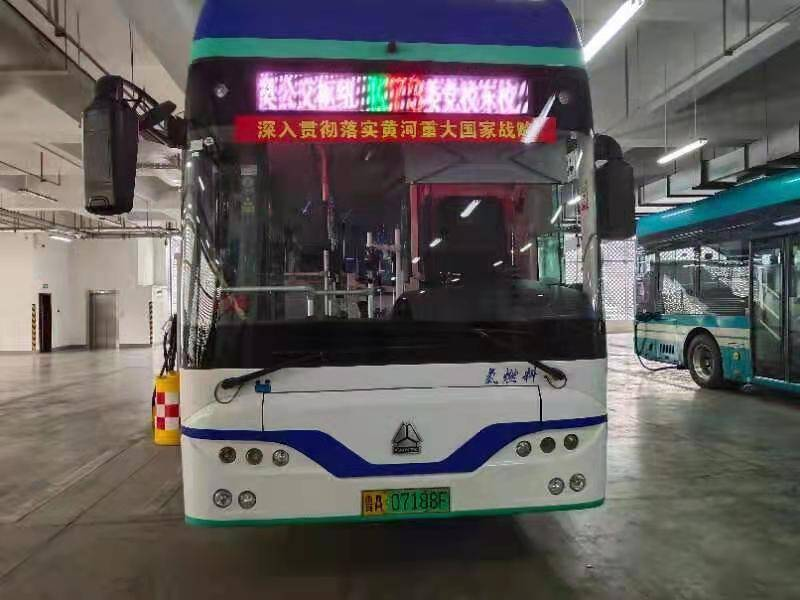 助力碳中和!济南新能源公交较燃气车节约费用78.14%