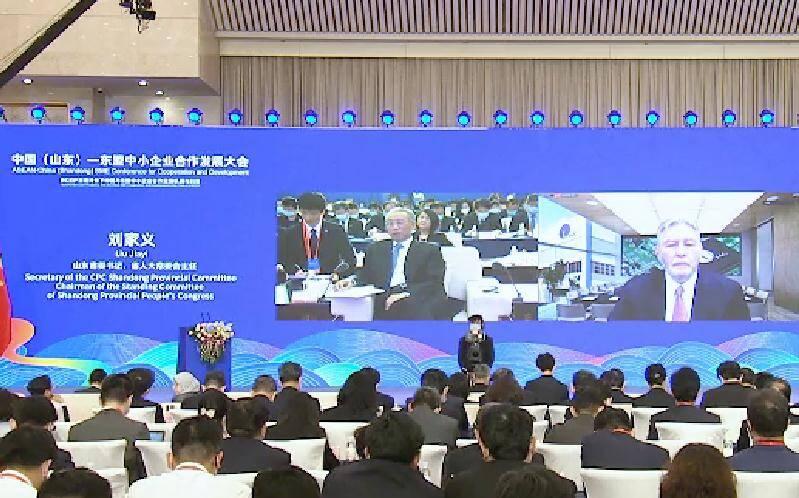V观时政|中国(山东)—东盟中小企业合作发展大会在济南开幕