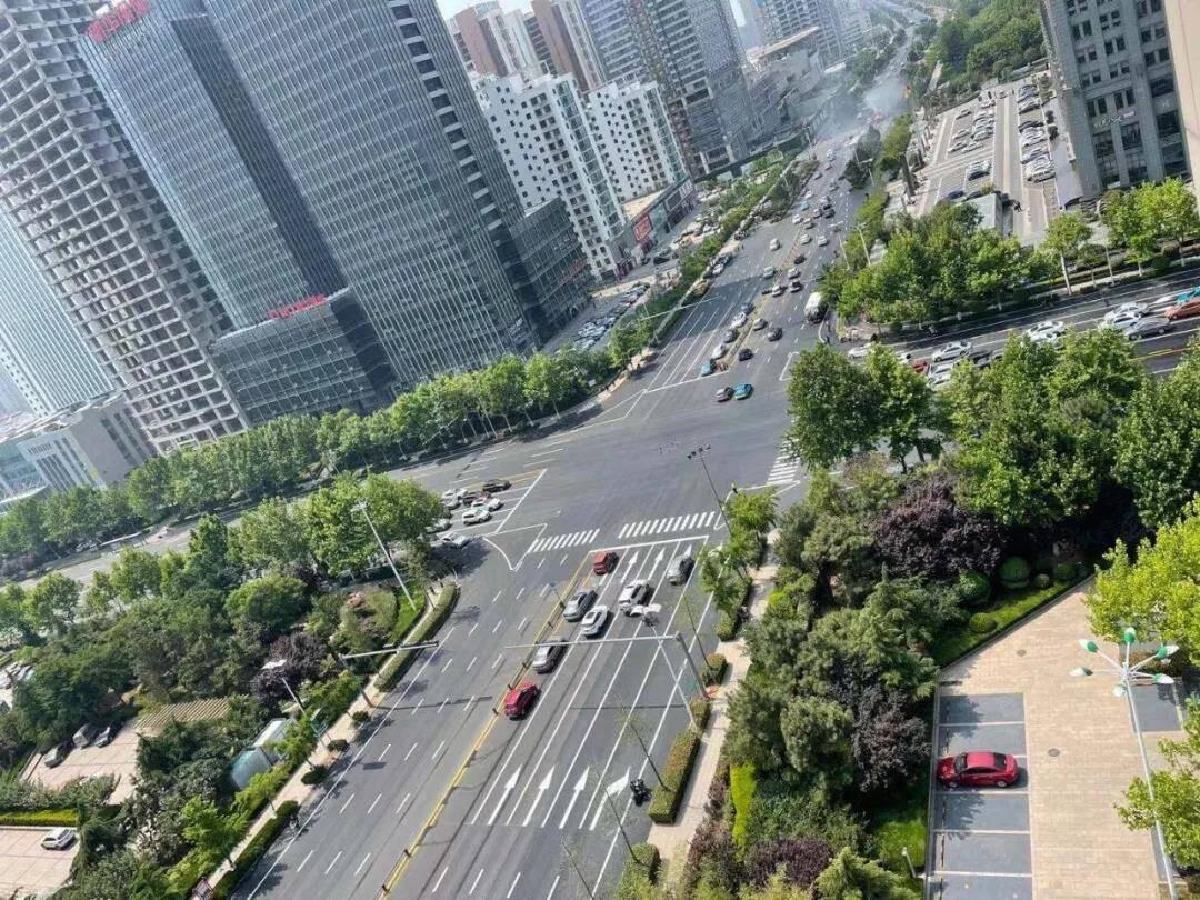 日照市烟台路与济南路路口改造完成正式通车