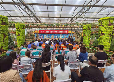 第二十二届菜博会暨2021种博会实现现场交易及订单贸易额达83亿元