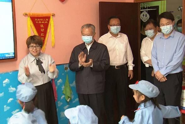 V观时政|刘家义向全省少年儿童致以节日祝贺