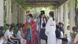 穿越历史的快乐儿童节:学习传统文化 与历史名人穿越对话