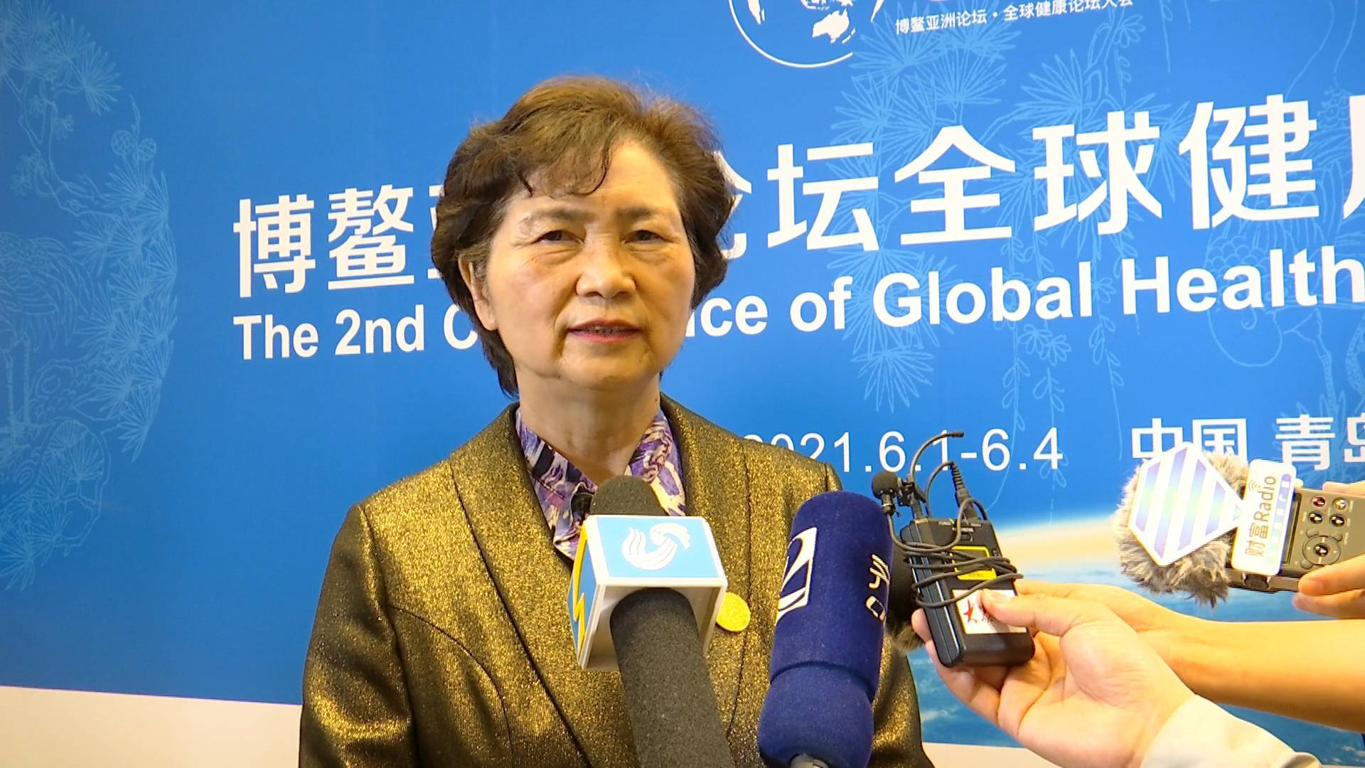 李兰娟:国内未达免疫屏障水平  需继续加大疫苗注射力度和严防输入