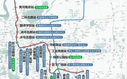 """串联""""起步区""""、CBD核心区!济南地铁3号线、7号线详细站点位置出炉"""