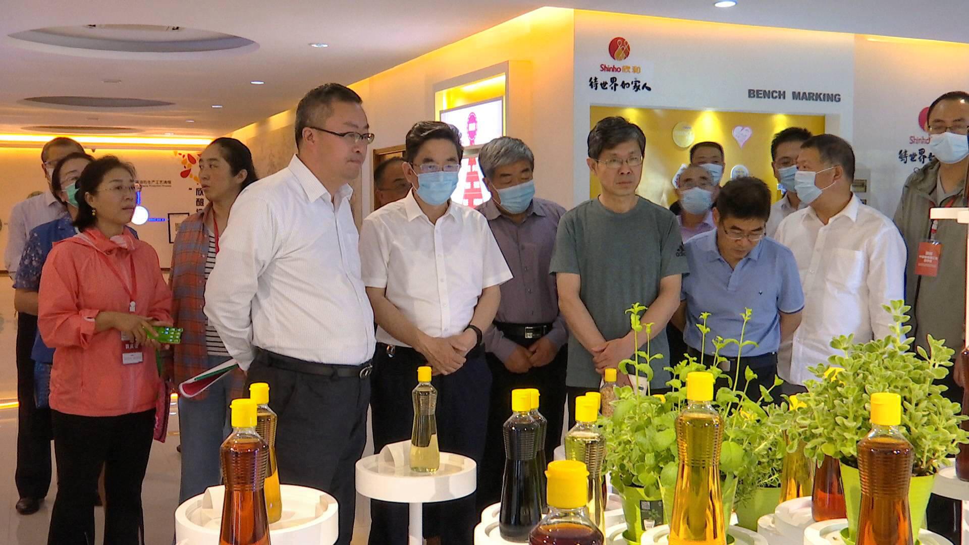 """""""2021山东食品产业高质量发展年""""参观考察活动走进烟台食品企业"""