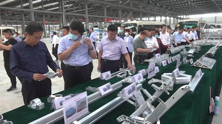 聊城重点项目现场观摩|茌平:建设铝精深加工产业链 打造绿色化工产业集群