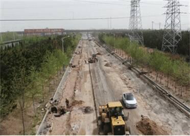 威海市文登區朵山路全路段預計6月底完工通車!