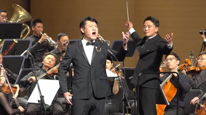 """威海环翠区""""红色旋律 时代交响""""音乐会完美奏响"""
