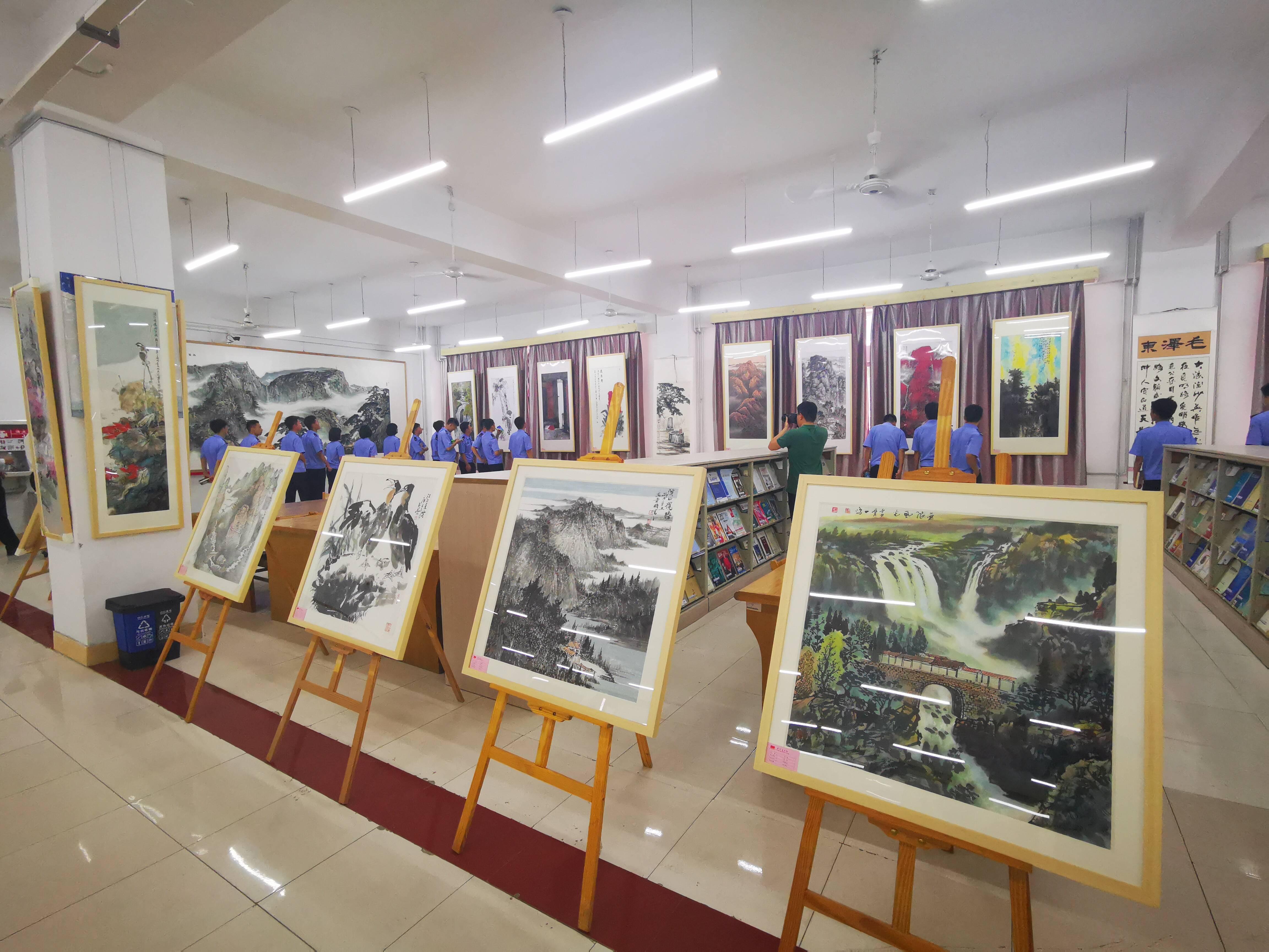 在正道上行——山东民进庆祝中国共产党成立100周年书画展在济南隆重开幕