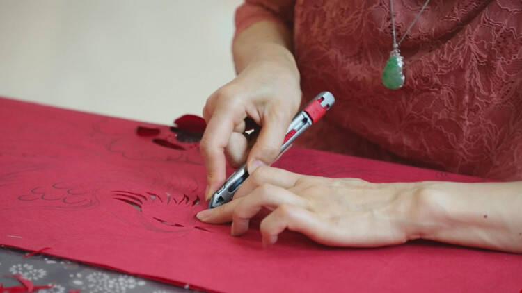潍坊昌邑:用剪纸讲好红色故事 传承红色基因