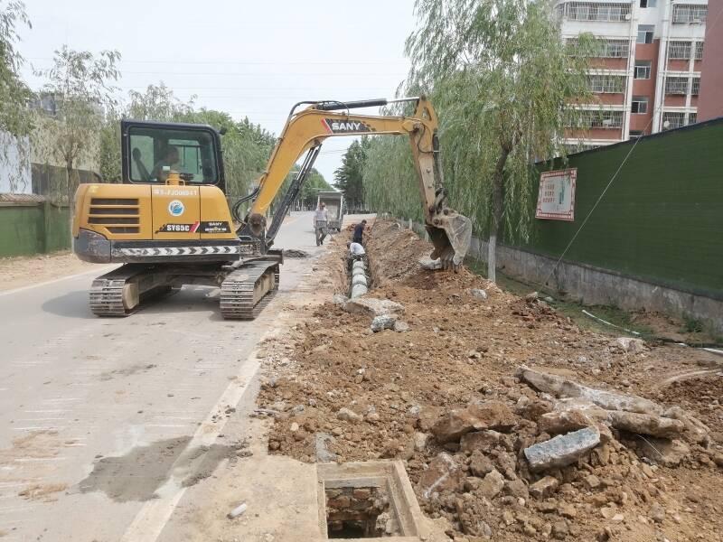 我为群众办实事|肥城孙家小庄社区解决路面积水难题,居民点赞