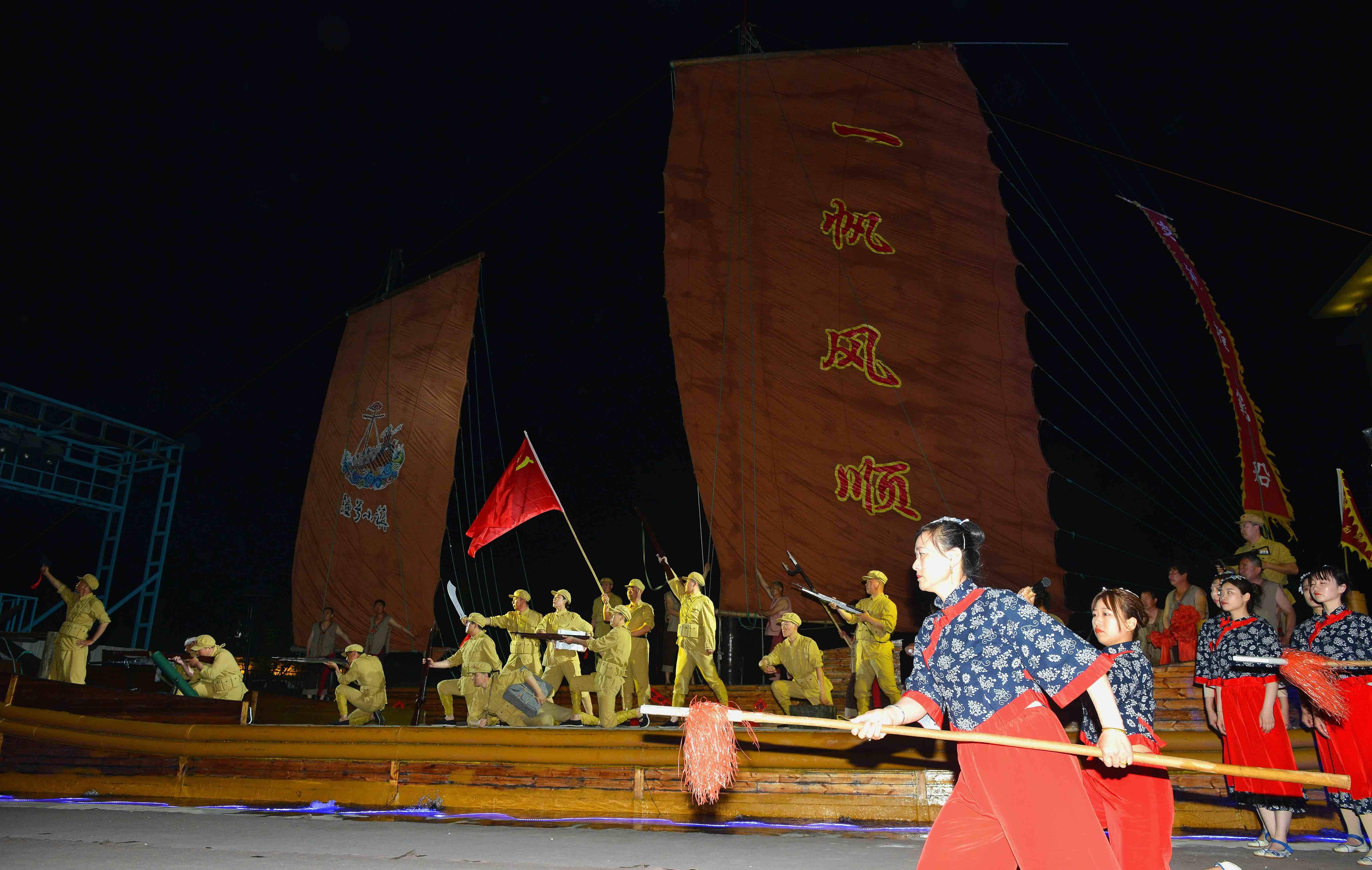 长岛渔号演出成新晋网红打卡点,沿袭300年闯海精神,声声喊出精气神
