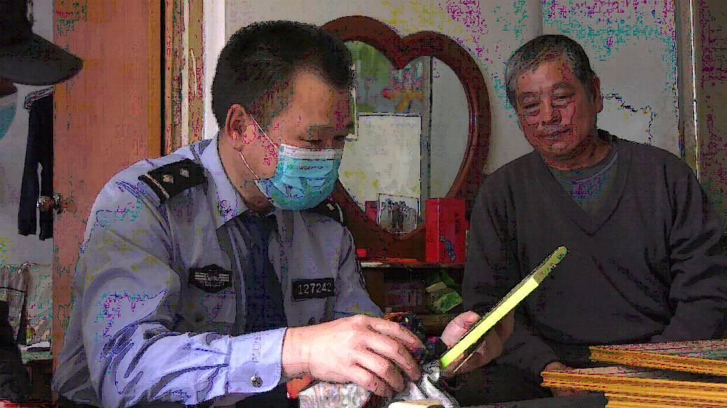 潍坊峡山公安走访慰问辖区老兵:深受爱国主义教育