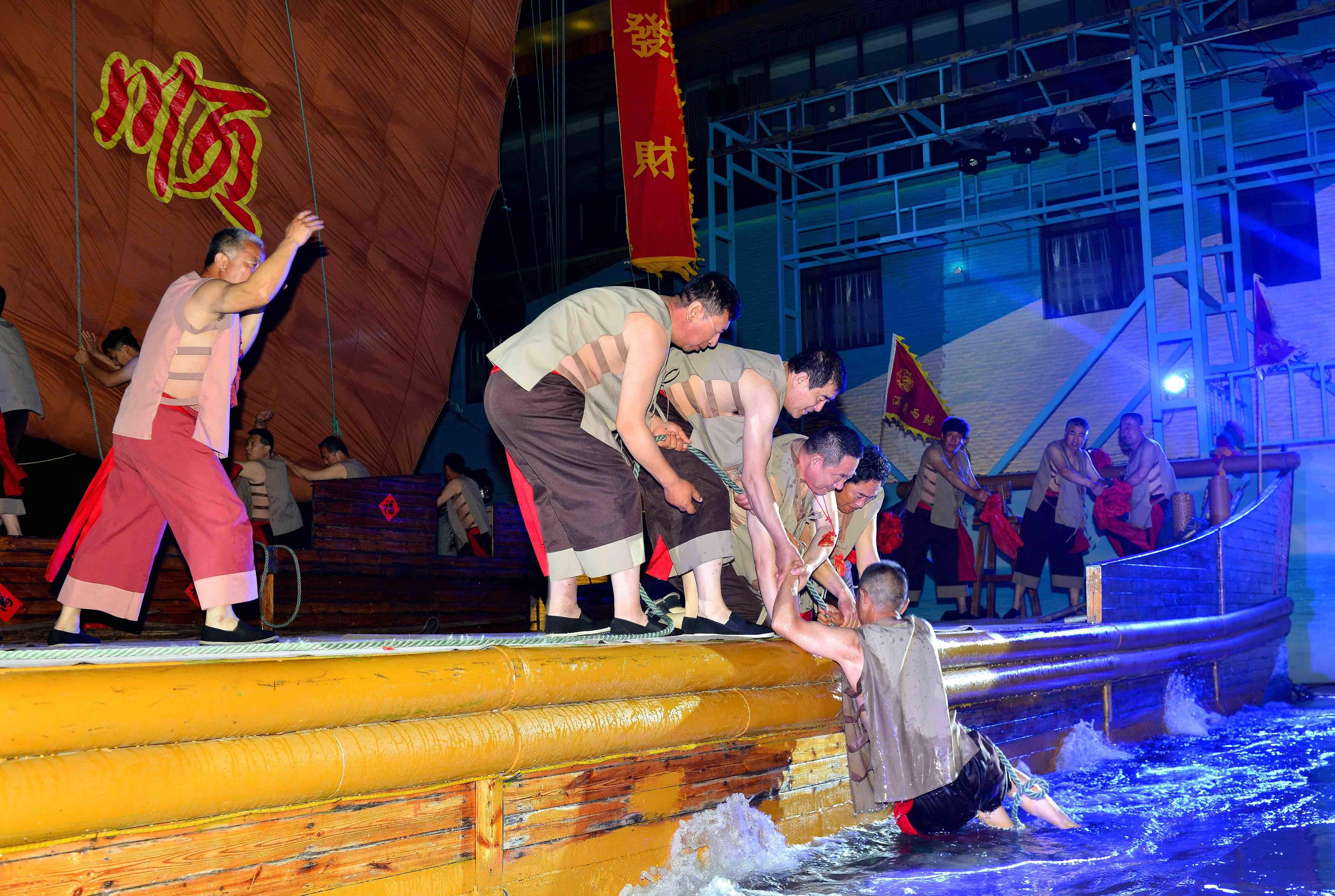 长岛渔号演出成新晋网红打卡点广东理工学校,沿袭300年闯海精神,声声喊出精气神