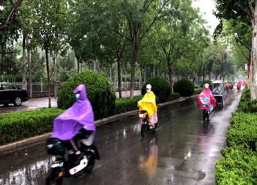 山东多地迎来新一轮降雨,威海、聊城局地出现暴雨,最高气温降5℃