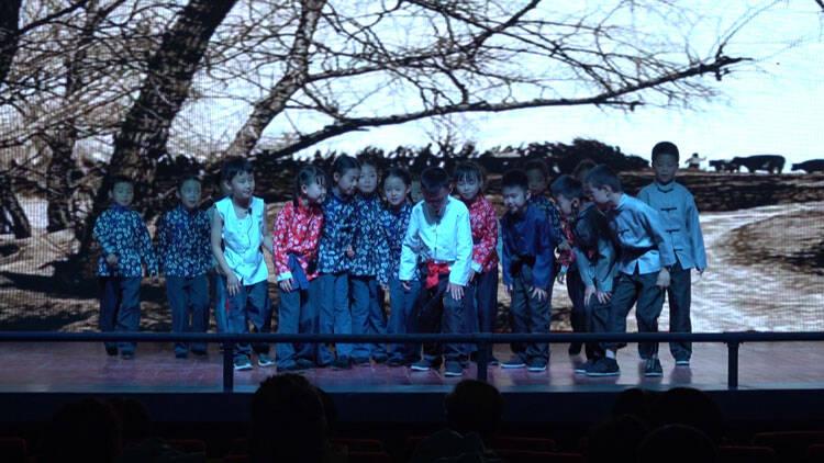 传承红色经典 潍坊市坊子区实验学校举办红色戏剧展演