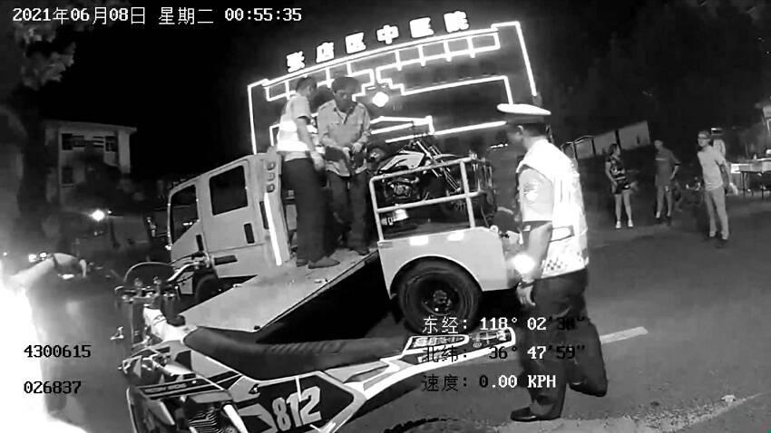 """高考期间骑摩托车""""炸街""""被查 3名驾驶员被扣24分"""
