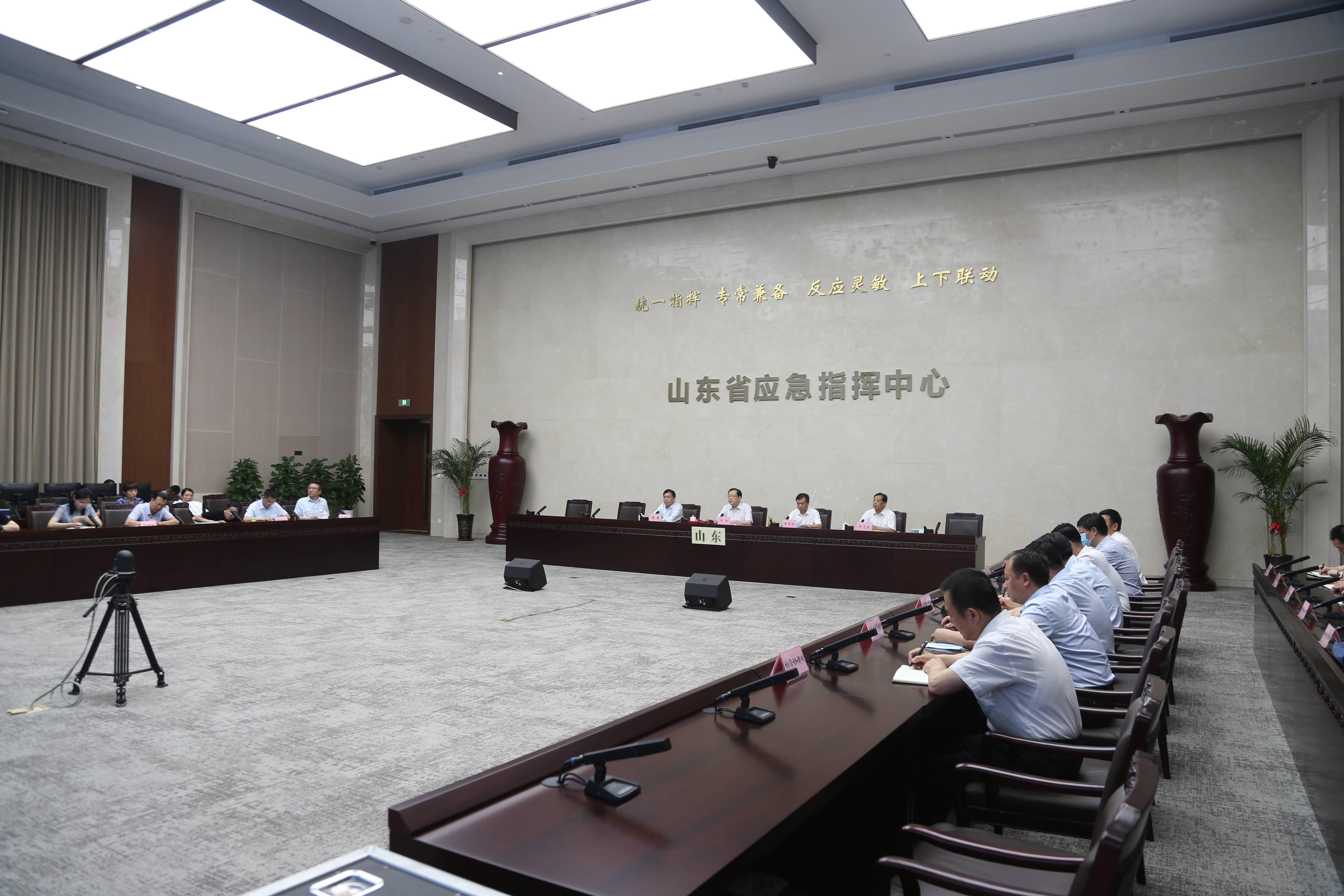 山东省安全生产专项督导组进行首次人员轮换