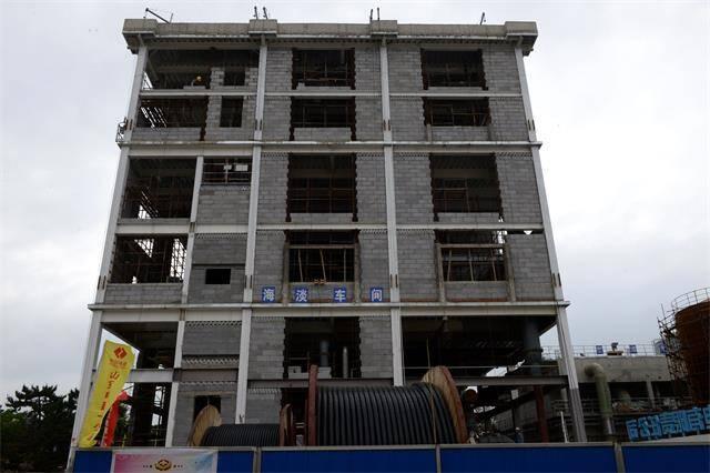 華能威海電廠海水淡化項目建設進入沖刺階段
