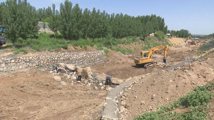 临朐辛寨街道加快推进河道治理工程 确保安全度汛